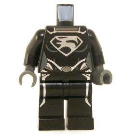 LEGO Black Outfit with Silver Emblem, Female