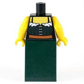 LEGO Corset and Plain Green Skirt
