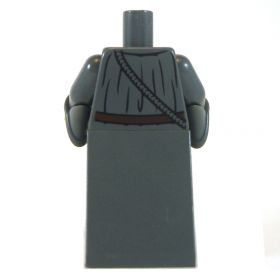 LEGO Dark Gray Robe, Flared Sleeves