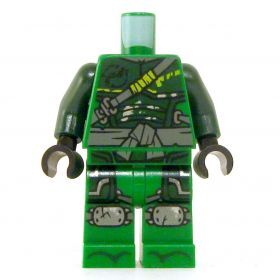 LEGO Green Outfit with Dark Green Armor