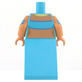 LEGO Azure Skirt and Top, Bare Arms and Midriff