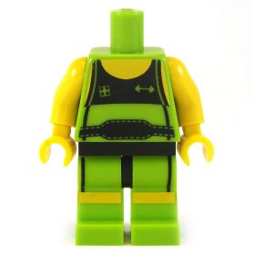 LEGO Lime Shorts and Shirt with Lime Boots