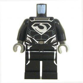 LEGO Black Outfit with Silver Emblem, Male