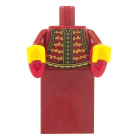 LEGO Dark Red Robe/Dress with Flared Sleeves