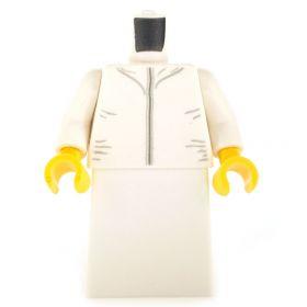 LEGO White Dress or Robe with White Top