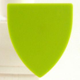 LEGO Shield, Triangular, Lime Green