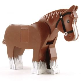 LEGO Draft Horse (custom painted)