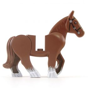 LEGO Draft Horse (custom painted), v2