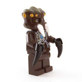 LEGO Ettercap (Web Lurker), Dark Brown