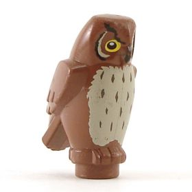 LEGO Owl (brown decorated)
