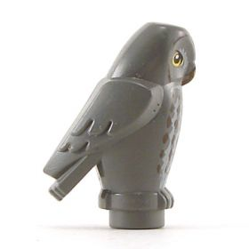 LEGO Owl (gray decorated)