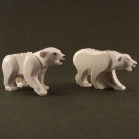 LEGO Bear, Polar (modern LEGO design, authentic)