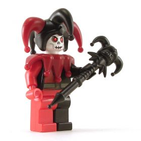 LEGO Grim Jester / Red Jester, version 2
