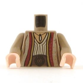 LEGO Arabian Robe with Pendant and Patches