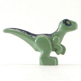 LEGO Velociraptor (Swarm Drake), green