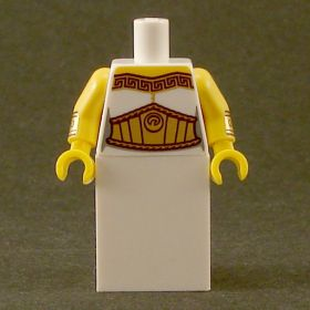 LEGO Robe, Gold Trim and Large Gold Belt