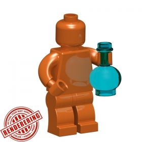 LEGO Metal Potion Bottle by BrickForge