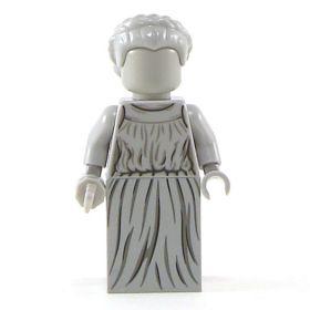 LEGO Caryatid Column, Light Gray