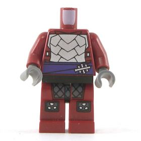 LEGO Dark Red Pants and Shirt, Armored