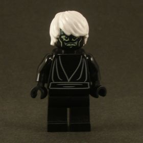 LEGO Drow, loose black shirt with sash