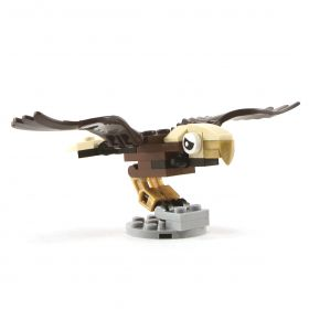 LEGO Eagle, Giant, Golden (custom design, 100% LEGO)