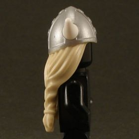 LEGO Hair, Female, Long and Blonde with Horned Helmet