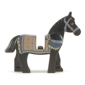 LEGO Riding Horse with Persian Blanket Print