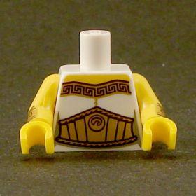LEGO Torso, Gold Trim and Large Gold Belt