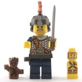 LEGO Golem, Wood, Small (Marionette, Puppet, Scarionette, Skull Puppet)