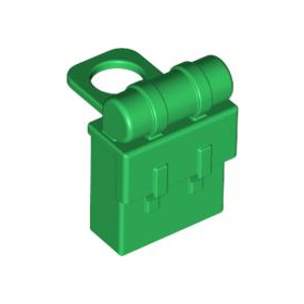 LEGO Minifig Backpack (Non-Opening), Green