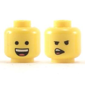 LEGO Head, Open Smile / Side Talking