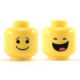 LEGO Head, Large Mouth, Smiling / Laughing