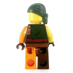 LEGO Bandit/Pirate, Armored Half