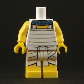 LEGO Torso with White Banded Pattern, Shendyt