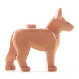 LEGO Dog, Alsatian / German Shepherd (Guard Dog), No Markings