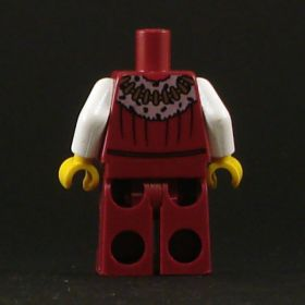 LEGO Noble, Red and White Outfit, No Head