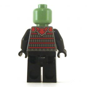 LEGO Orc, Red and Black with Armor