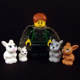 LEGO Rabbit, White (large version)