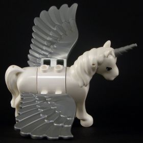 LEGO Half-Celestial (Winged Unicorn), rounded features