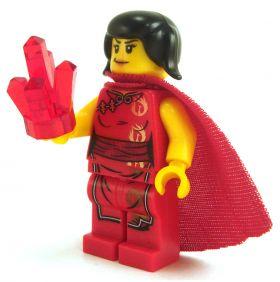 LEGO Arcane Focus: Crystal (Large), Red